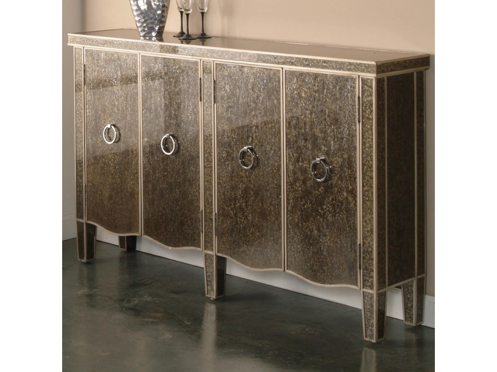 pulaski furniture accents tiara console table with doors  dunk  - pulaski furniture accents tiara console table with doors  dunk  brightfurniture  sofa tablesconsoles