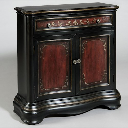Pulaski Furniture Accents Hall Chest with Two Doors and One Drawer