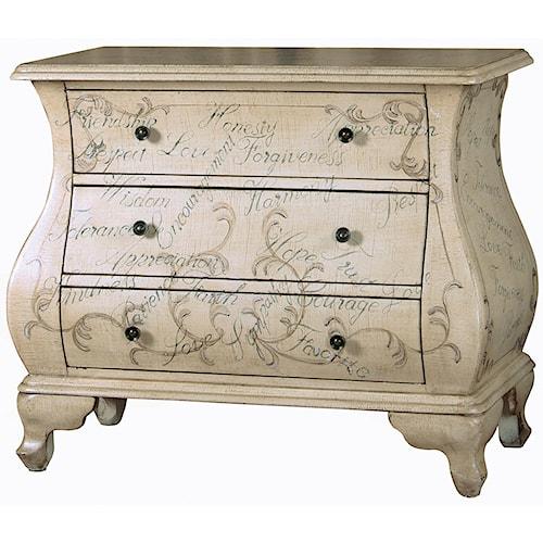 Pulaski Furniture Accents Maci Bombe Chest