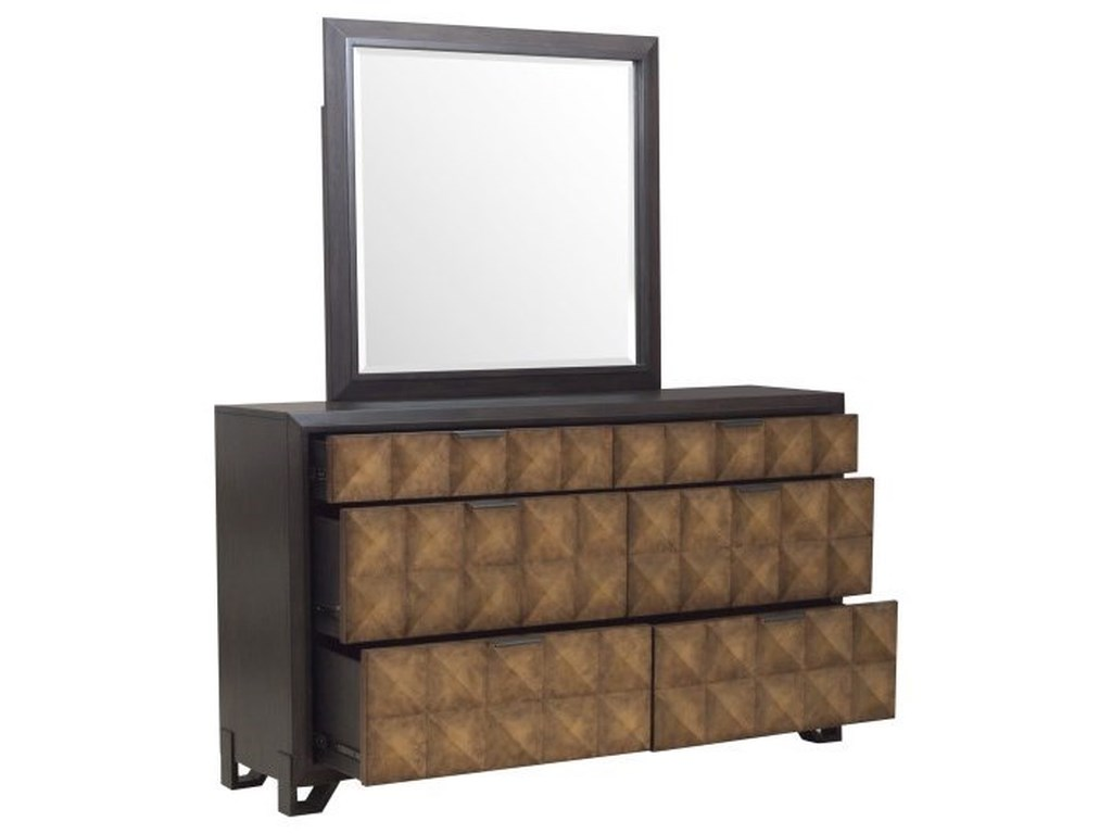 Pulaski Furniture HudsonDresser and Mirror Set
