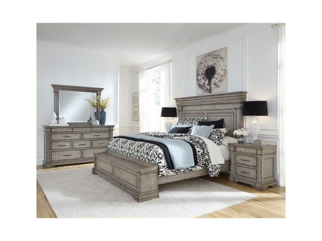 Pulaski Furniture Madison RidgeCalifornia King Bedroom Group