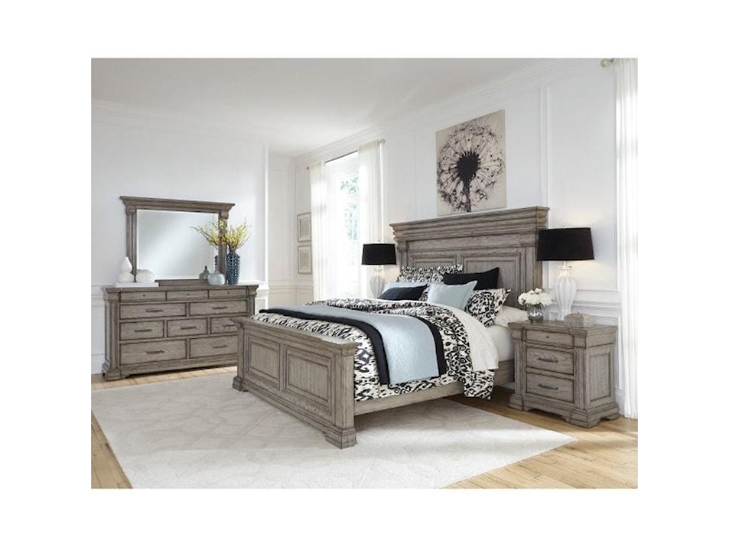 Pulaski Furniture Madison RidgeQueen Bedroom Group
