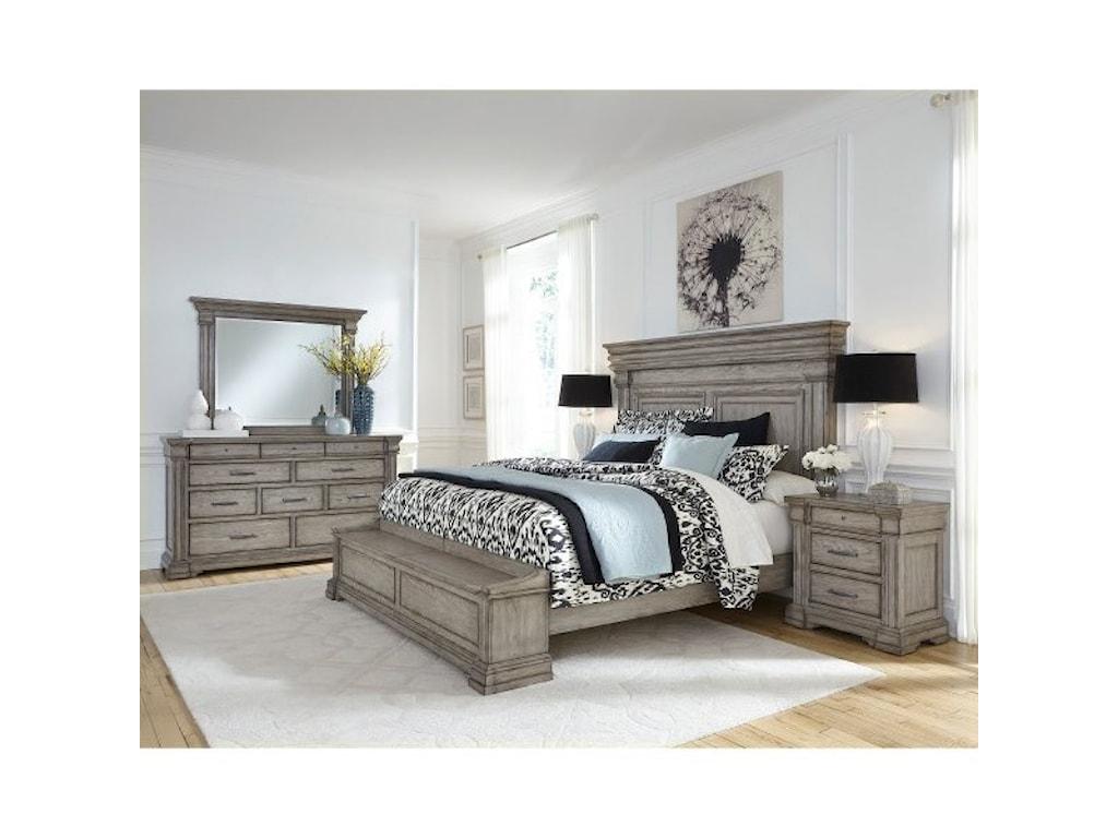 Pulaski Furniture Madison RidgeCalifornia King Panel Bed