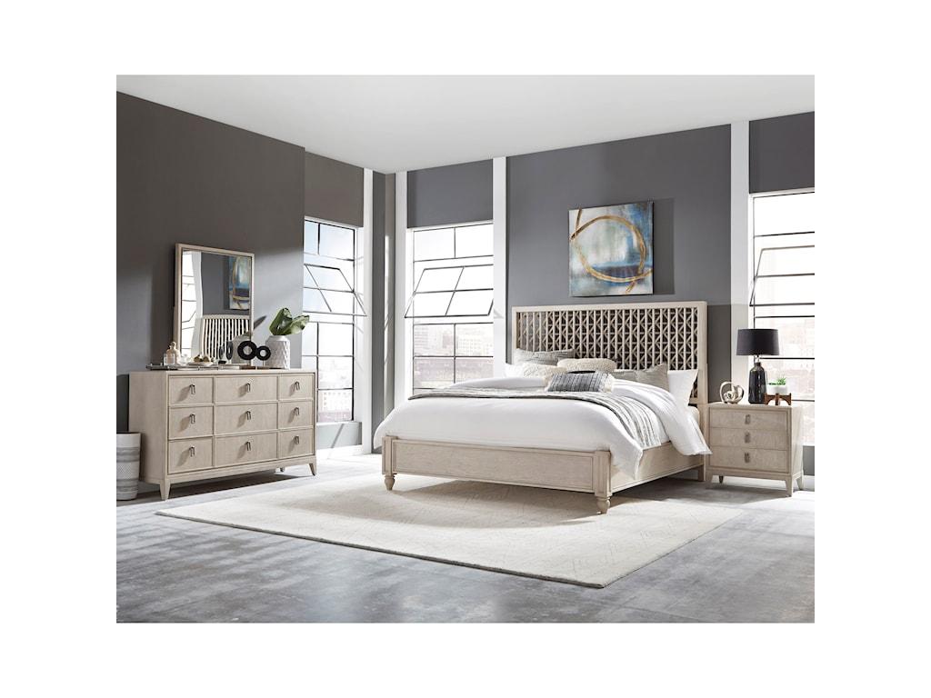 Pulaski Furniture Meyers ParkKing Low Profile Bed