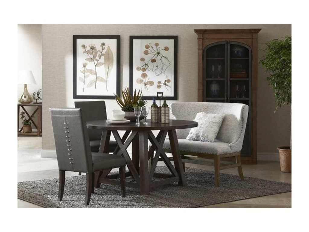 Pulaski Furniture Modern AuthenticsShelter Back Nail Trim Settee