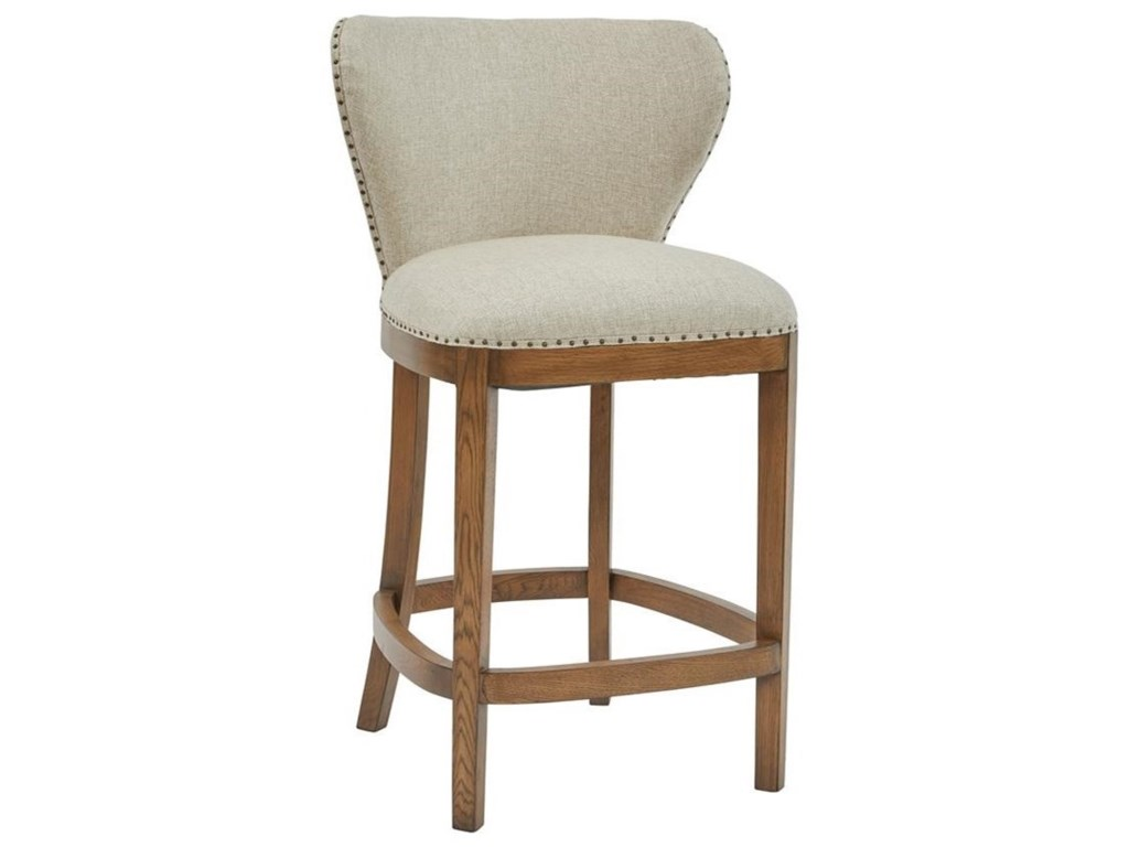 Pulaski Furniture Modern AuthenticsDeconstructed Counter Height Barstool