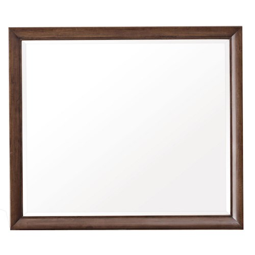 Pulaski Furniture Modern Harmony Beveled Framed Wall Mirror