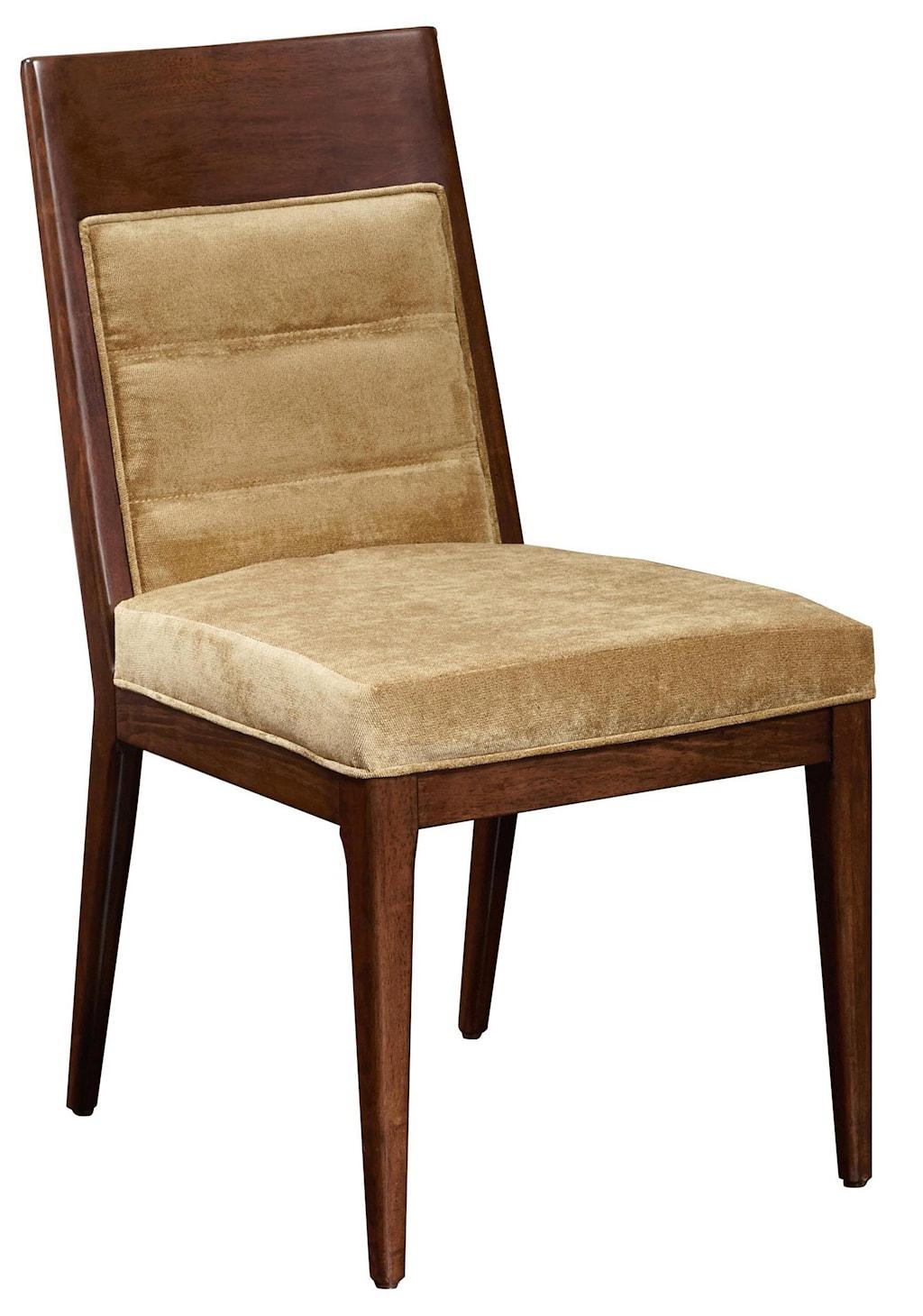 pulaski furniture modern harmony 7 pc dining table set w modern harmony 7 pc dining table set w uphostered chairs by pulaski furniture