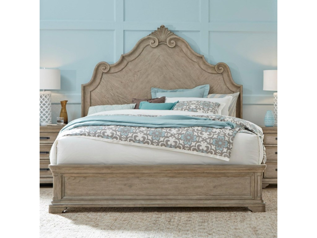 Pulaski Furniture MontereyQueen Low Profile Bed