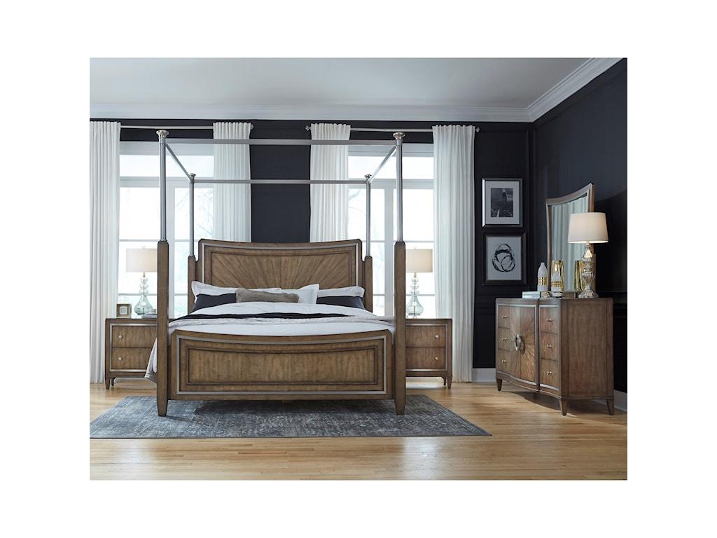 Pulaski Furniture MysticKing Canopy Bed