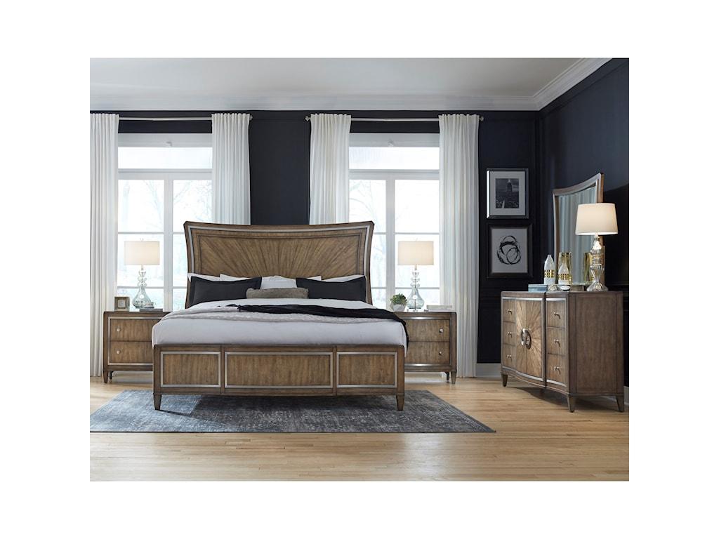 Pulaski Furniture MysticKing Panel Bed