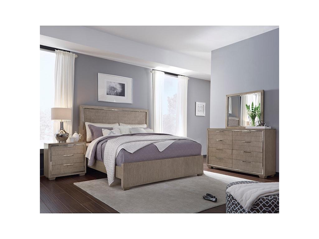 Pulaski Furniture NewportDresser and Mirror Combo