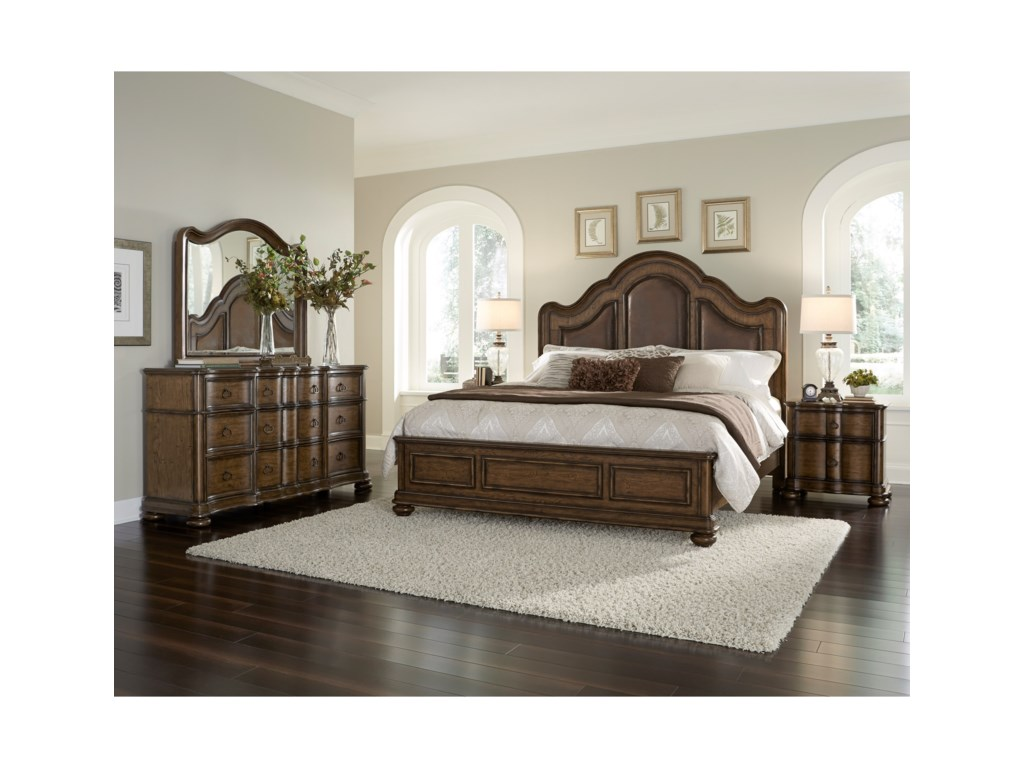 Pulaski Furniture QuentinKing Bed