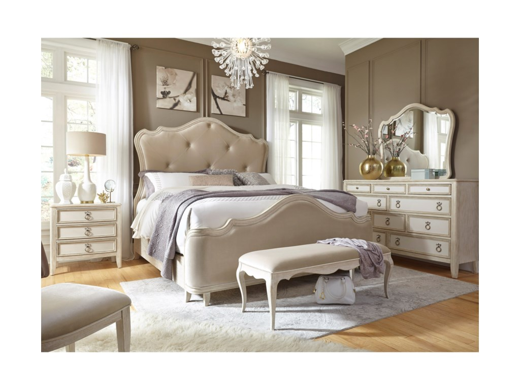 Pulaski Furniture ReeceQueen Bedroom Group