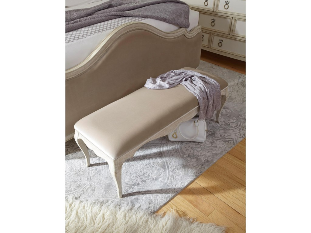 Pulaski Furniture ReeceUpholstered Bed Bench