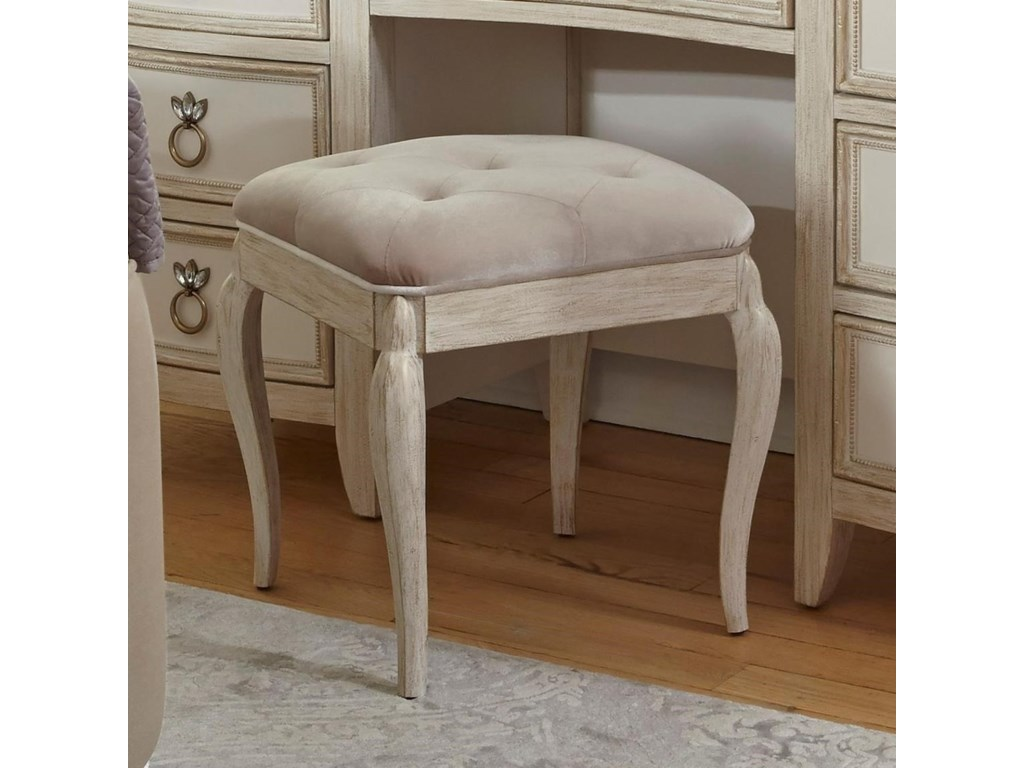 Pulaski Furniture ReeceUpholstered Vanity Stool