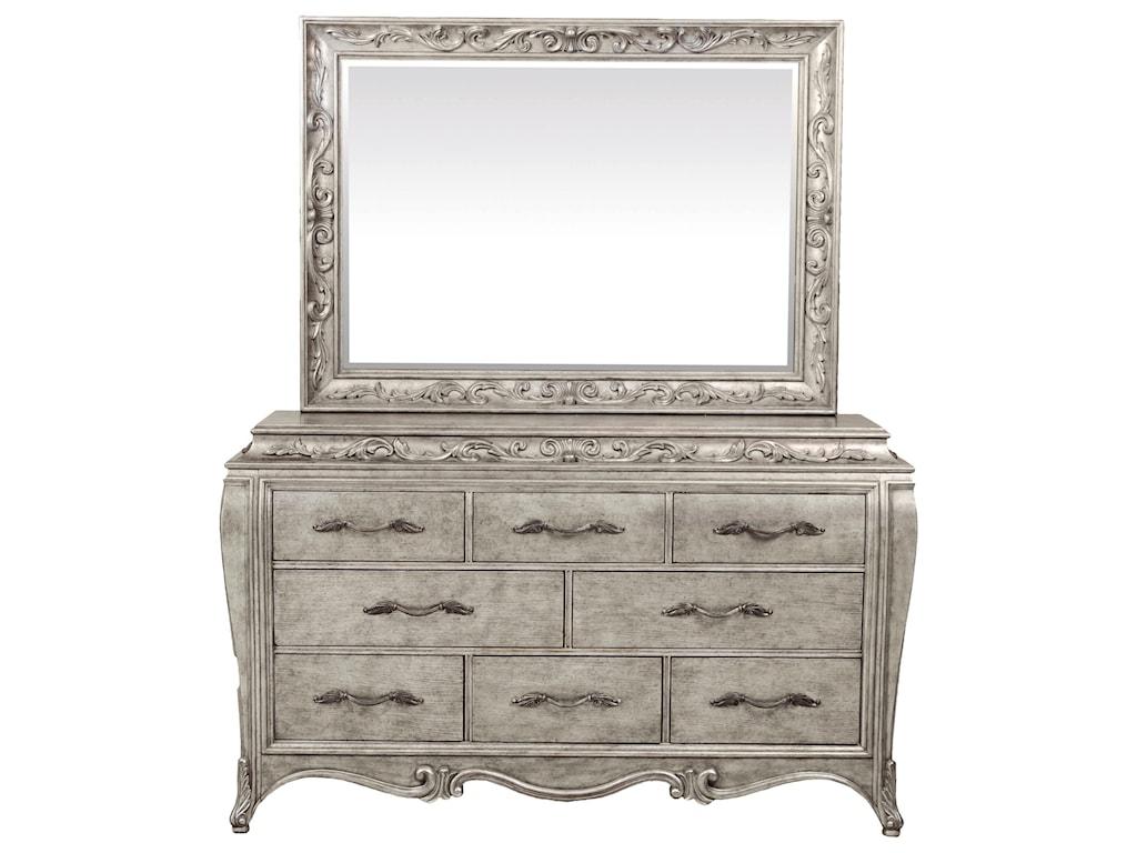 Pulaski Furniture RhiannaRhianna Landscape Mirror