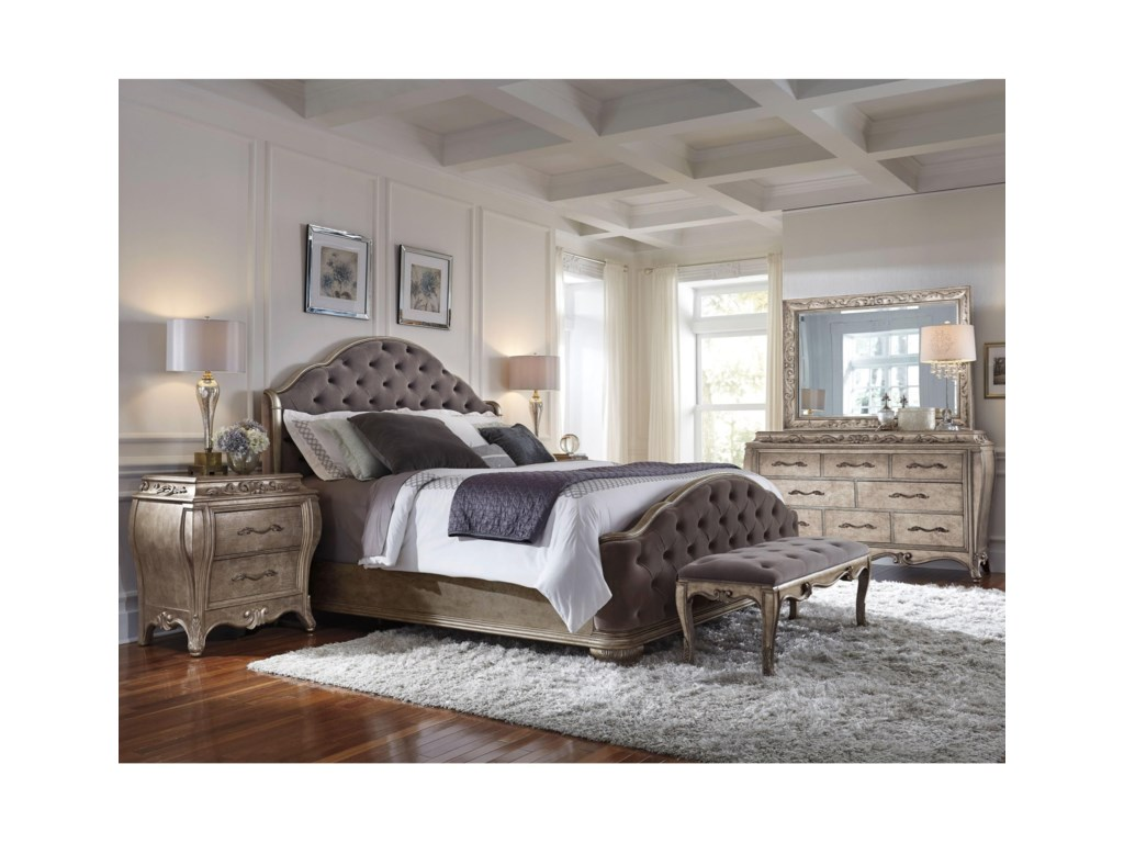 Pulaski Furniture RhiannaRhianna Bed Bench
