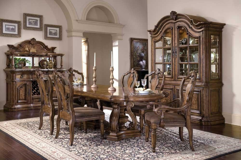 Shown with Table, Chairs, and China Cabinet