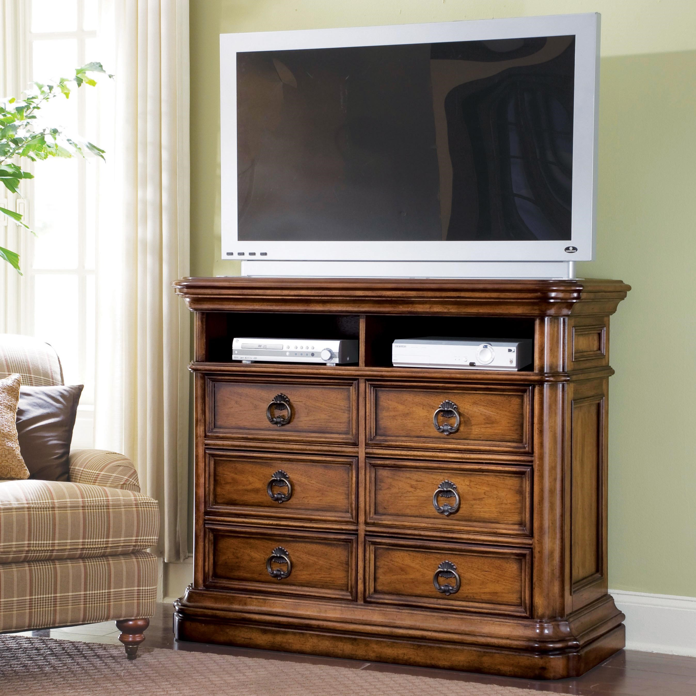 Media Chest with Drawers