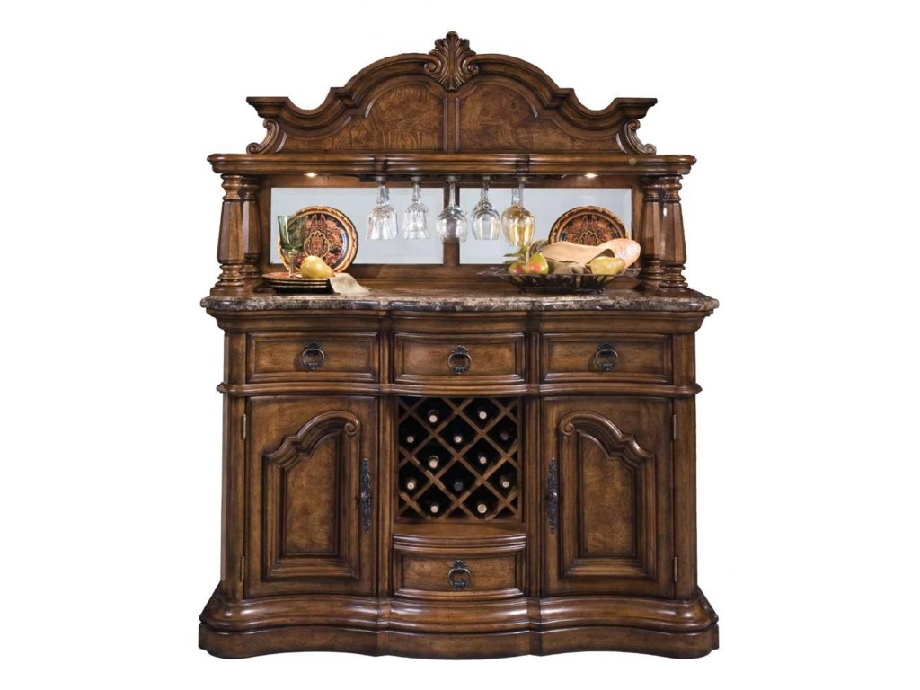 Pulaski Furniture San MateoMarble Top Sideboard