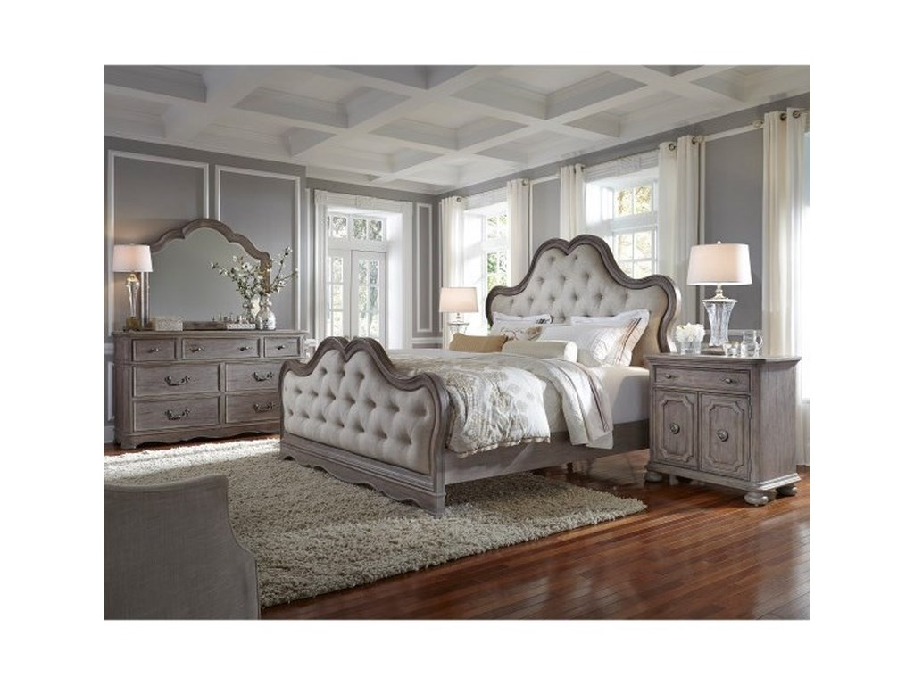 Pulaski Furniture Simply CharmingUpholstered Queen Bed