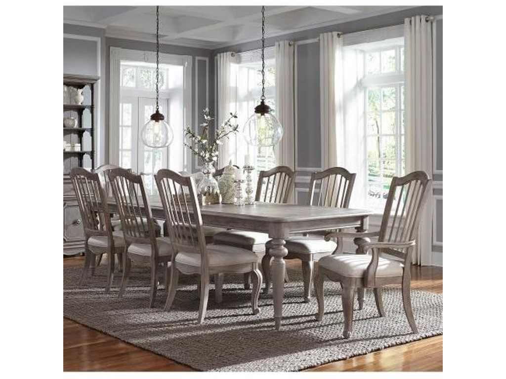 Pulaski Furniture Simply Charming9-Piece Dining Set