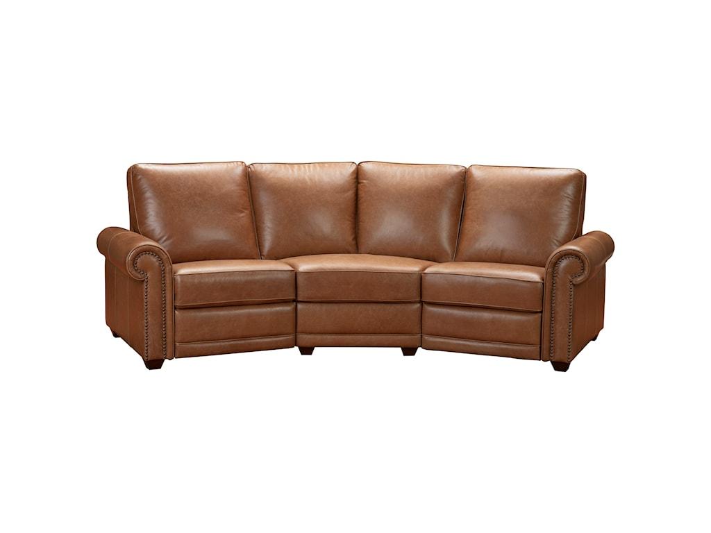 Pulaski Furniture Sloane Motion Uph3-Piece Sectional Conversation Sofa