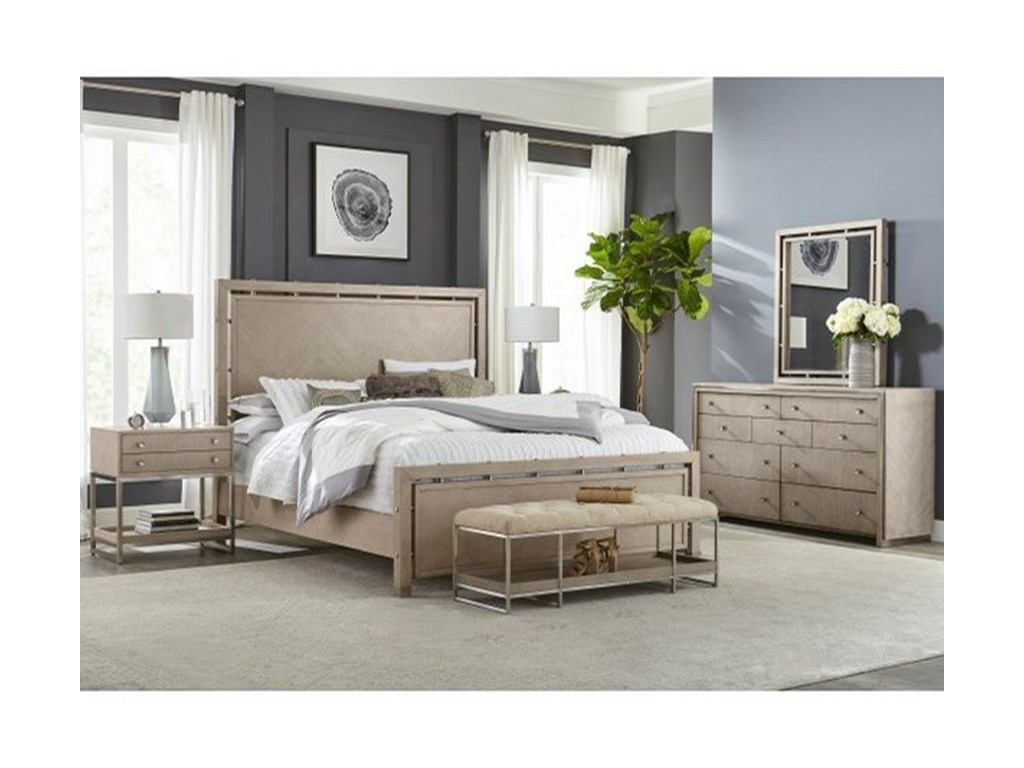 Pulaski Furniture Sutton PlaceQueen Bedroom Group