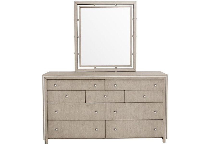 Pulaski Furniture Sutton Place Contemporary 9 Drawer Dresser And
