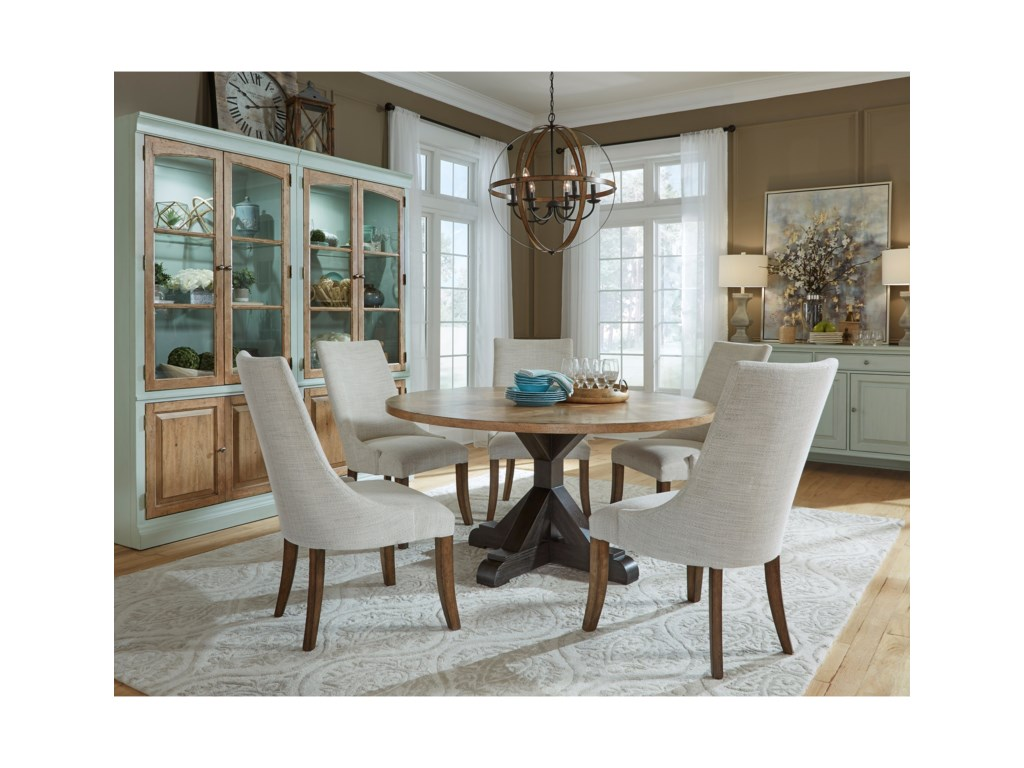 Pulaski Furniture The Art of DiningCasual Dining Room Group