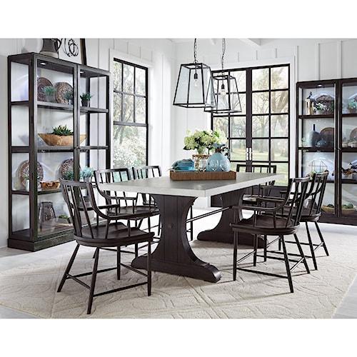 Pulaski Furniture The Art of Dining Formal Dining Room Group