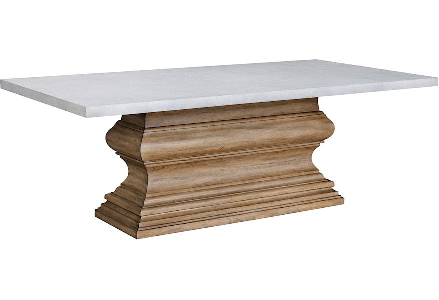 Art Of Dining Rectangular Pedestal Base