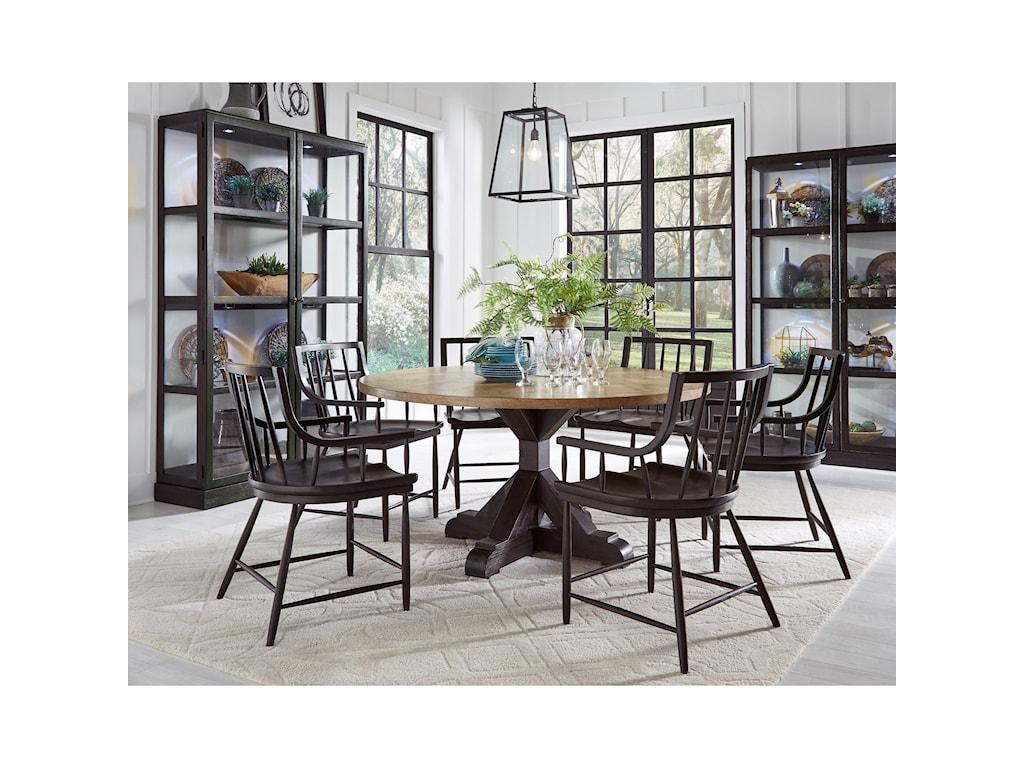 Pulaski Furniture The Art of DiningBlack Windsor Chair