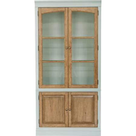 Two Tone China Cabinet