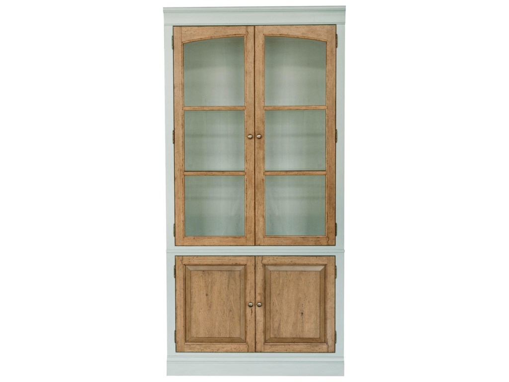 Ski Furniture The Art Of Diningtwo Tone China Cabinet