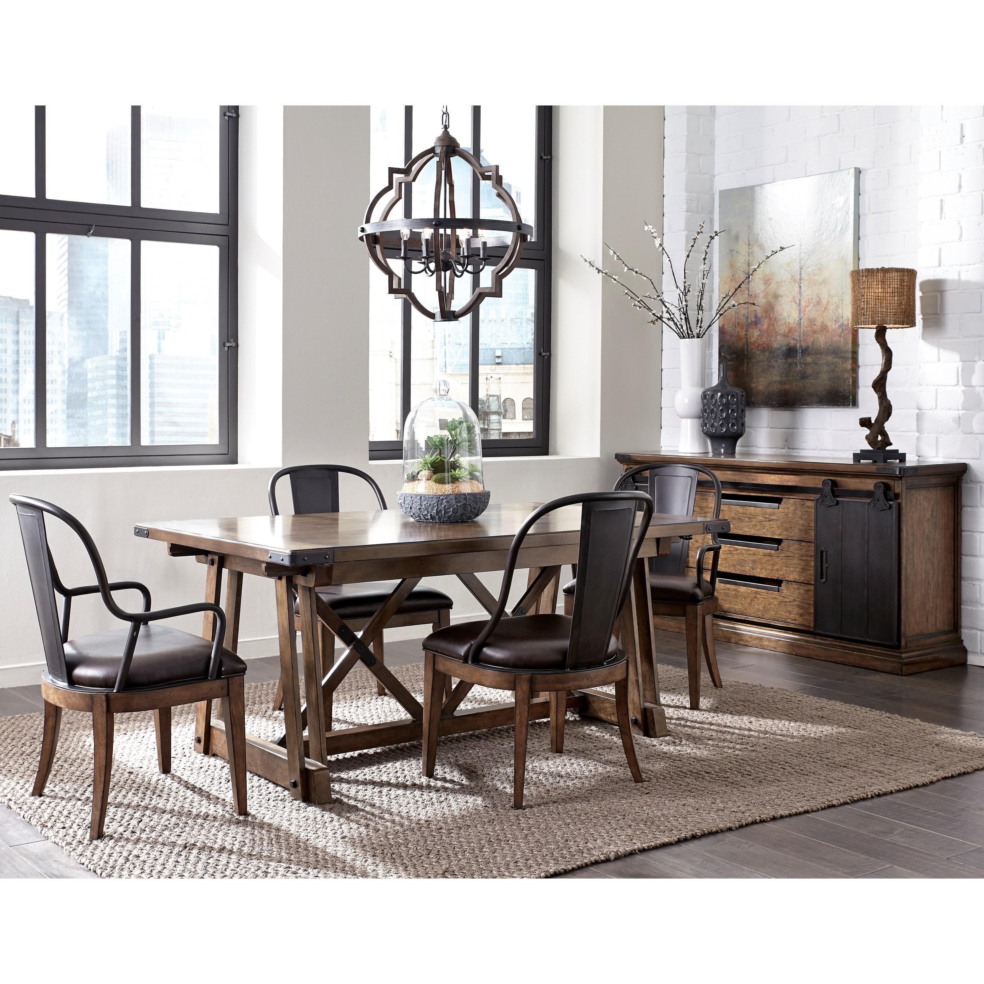 Pulaski Furniture Weston Loft Formal Dining Room Group