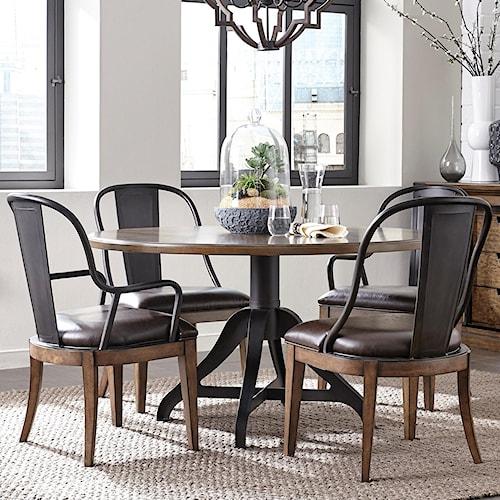 Pulaski Furniture Weston Loft 5 Piece Table And Chair Set