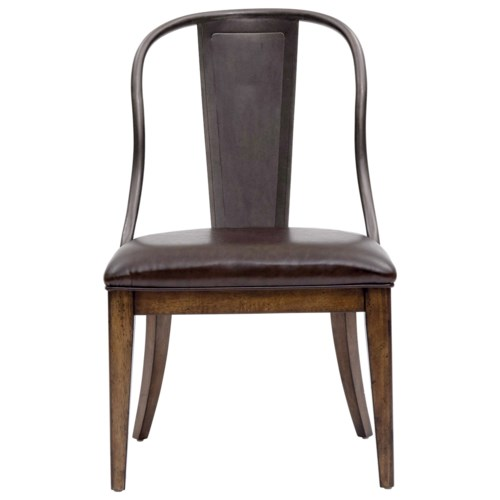 Pulaski Furniture Weston Loft Side Chair With Upholstered