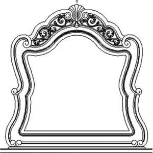 Pulaski Furniture BirkhavenMirror