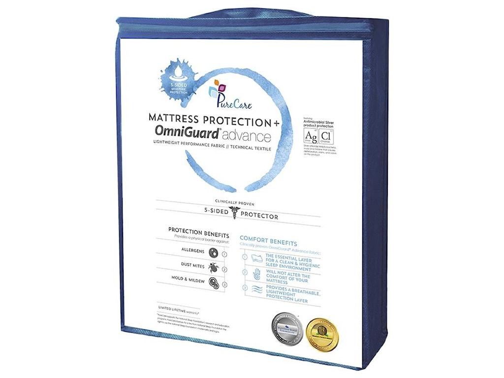 PureCare 5 Sided Mattress ProtectorQueen Mattress Protector
