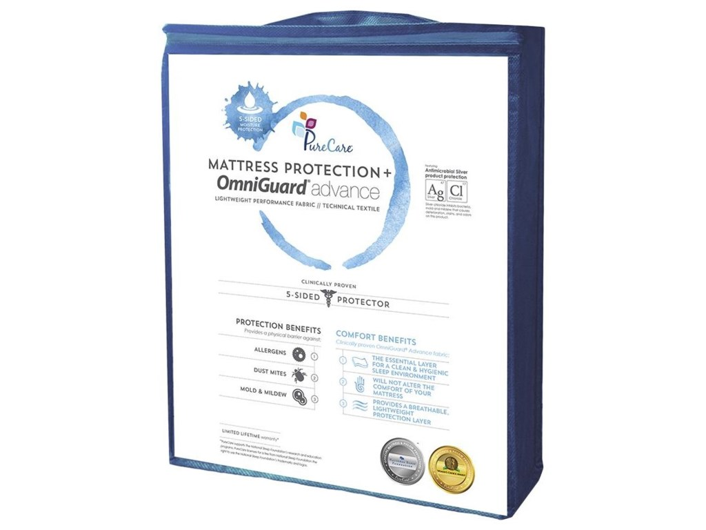 PureCare 5 Sided Mattress ProtectorKing Mattress Protector