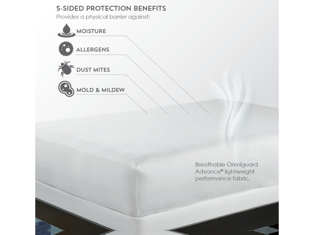 PureCare FRIO COOLING UNIVERSALTwin XL Mattress Protector