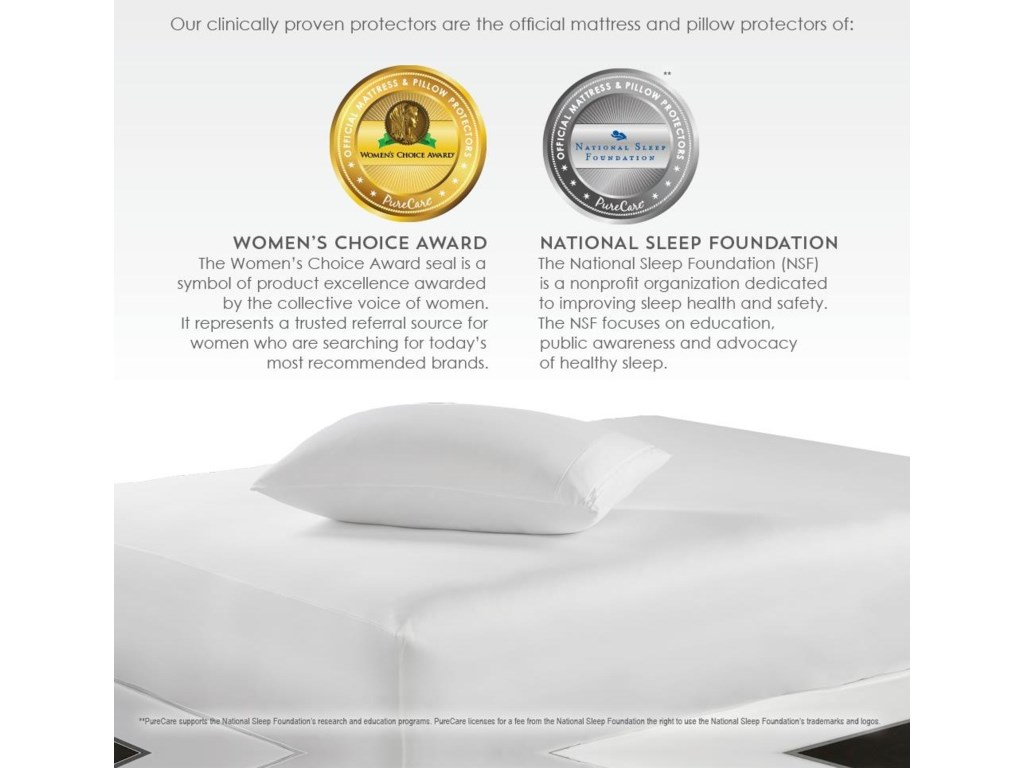 PureCare FRíO Pillow ProtectorQueen Pillow Protector