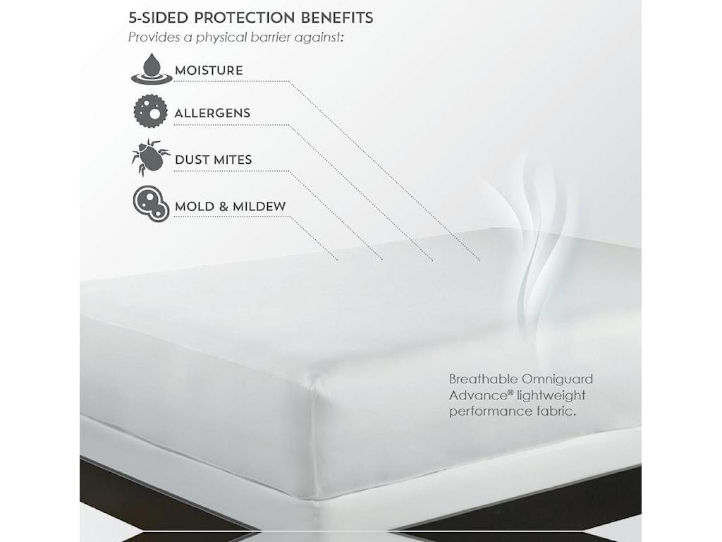 PureCare ReversaTemp Mattress ProtectorQueen Mattress Protector