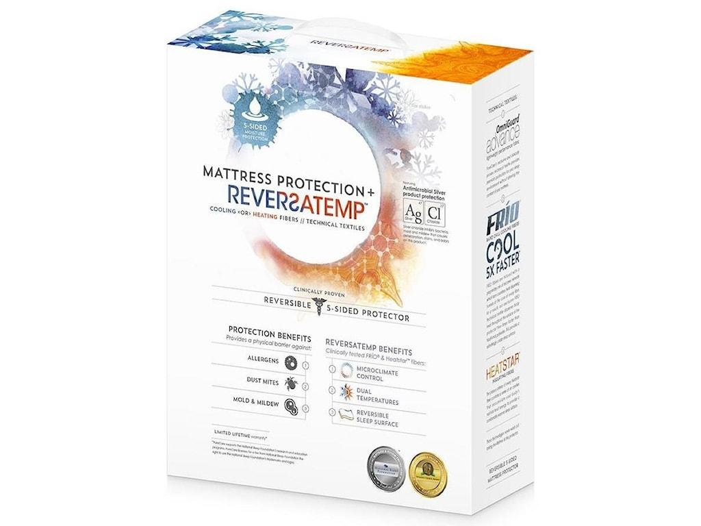 PureCare ReversaTemp Mattress ProtectorCal King Mattress Protector