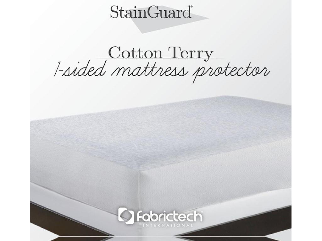 PureCare StainGuard Cotton Mattress ProtectorTwin Cotton Mattress Protector