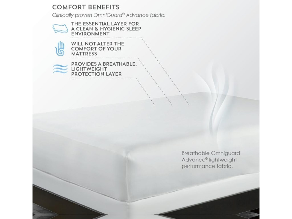 PureCare TOTAL ENCASE UNIVERSALTwin XL Mattress Protector