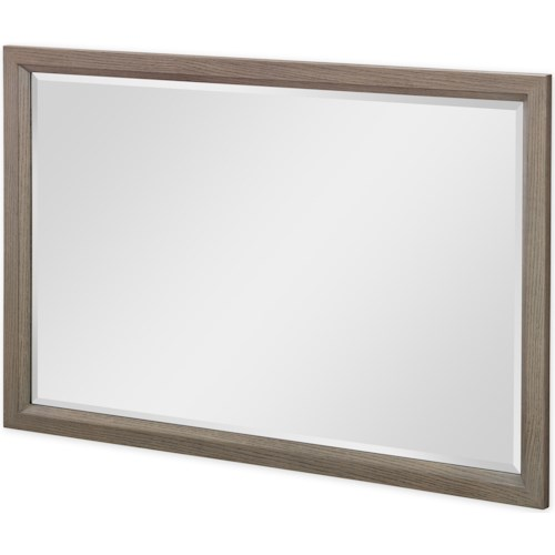 Rachael Ray Home by Legacy Classic High Line Landscape Mirror with Beveled Glass