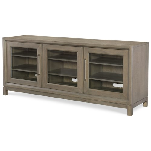 Rachael Ray Home Highline Entertainment Console with Built-in Outlet